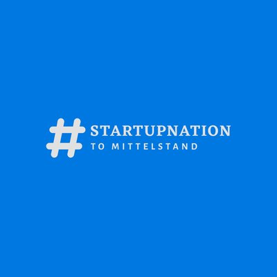 #startupnation to Mittelstand Logo