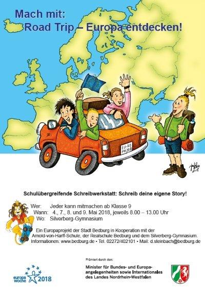 Mach Mit Road Trip Europa Entdecken