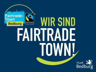 Fairtrade-Town Schild